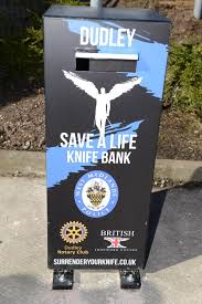 Solution to gang violence. knife bank
